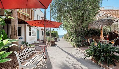 review sea blue hotel santa monica