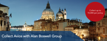 Earn Avios with Alan Boswell Insurance