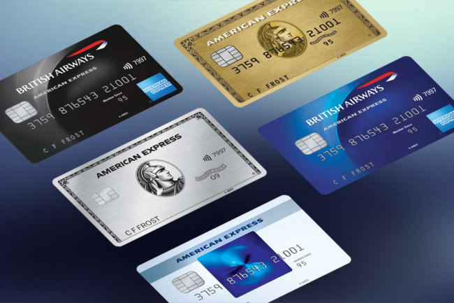 American Express montage