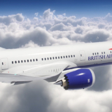 BA British Airways 787-9