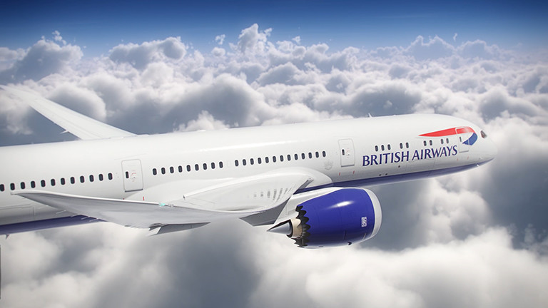 BA British Airways 787-9