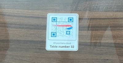 British Airways lounges QR code