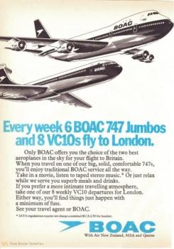 British Airways Boeing 747 history