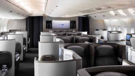 British Airways A380 returning