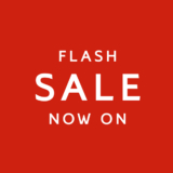 Flash sale now on