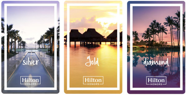 Your Hilton status has been extended to 2022