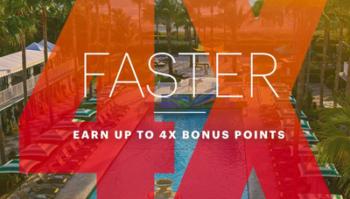 IHG Rewards Club 4x bonus points offer