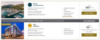 Use Ambassador benefits at Regent Hotels