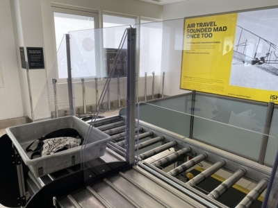 How is London City Airport during coronavirus?