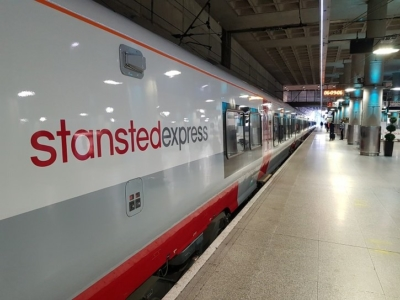 New Stansted Express trains now in service