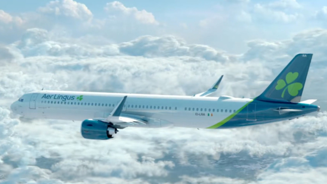 Aer Lingus to launch US flights from UK regional airport