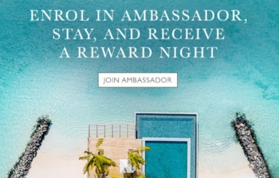 40,000 points for joining Intercontinental Ambassador