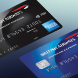 British Airways BA American Express Amex credit cards