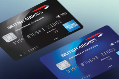 British Airways BA American Express Amex credit cards