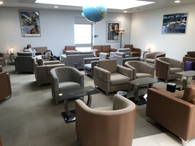 British Airways Executive Lounge Jersey Airport
