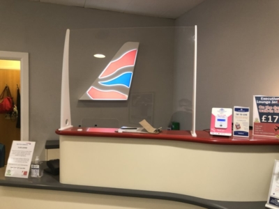 Executive Lounge Jersey Airport review