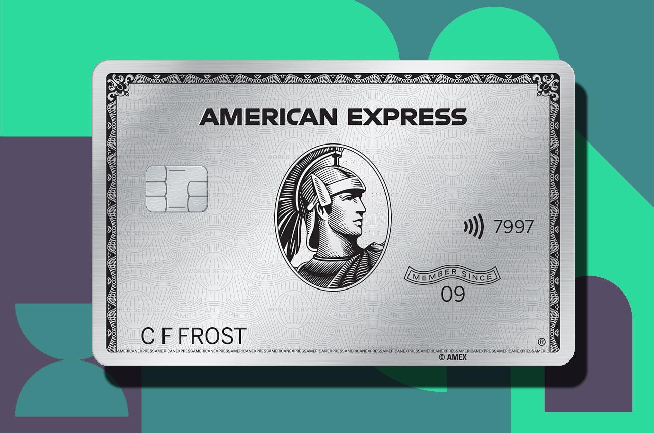 Get £100 cashback on your American Express Platinum card