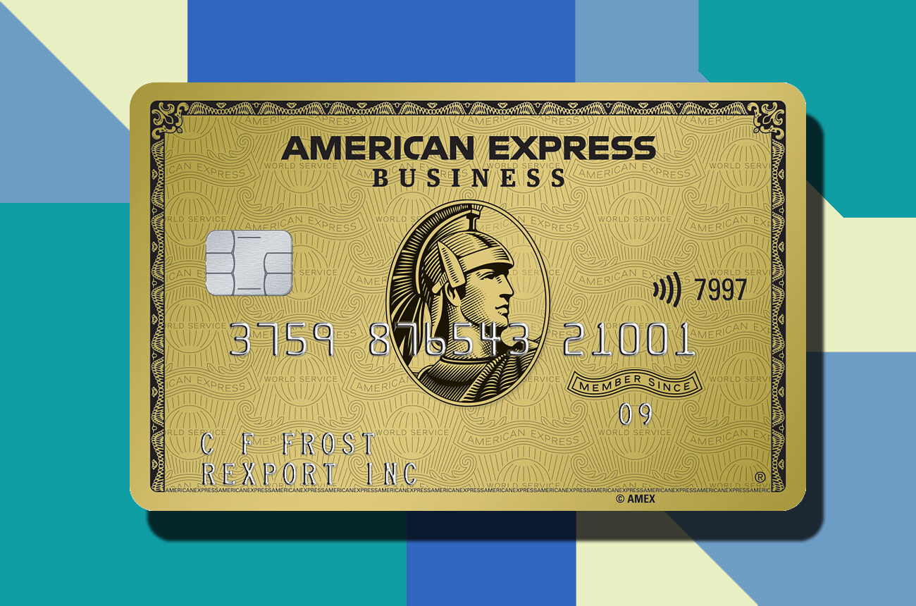 HFP Amex American Express Business Gold Card