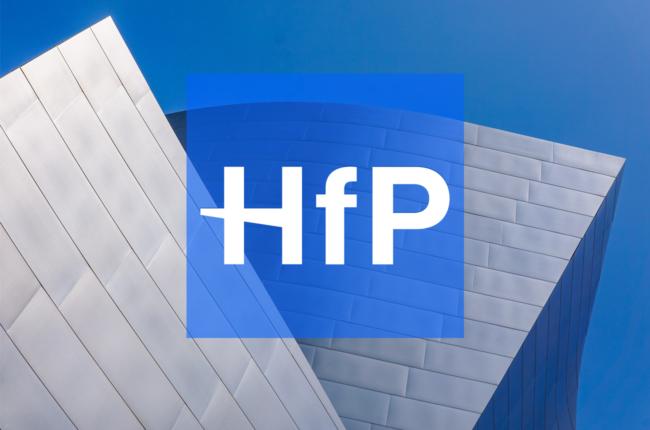 HfP shortlisted for 5 awards!
