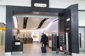 Heathrow Fast Track security