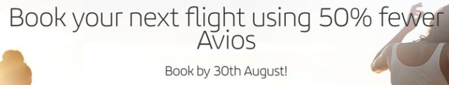 Half price Avios redemptions on Iberia