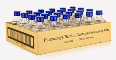 Pickerings British Airways Centenary Gin