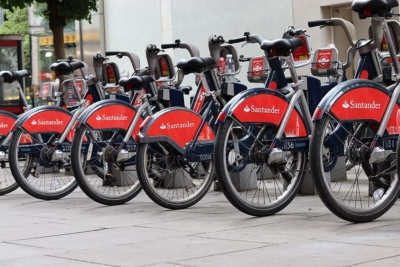 Santander Cycles TFL Boris bikes