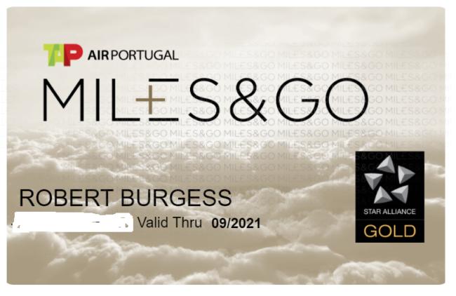 TAP Air Portugal status match