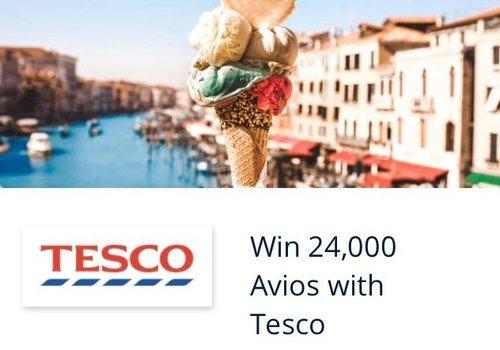 Tesco Avios competition