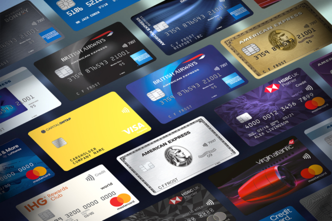 UK Rewards credit and charge cards