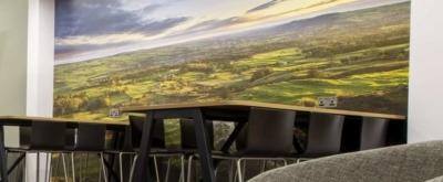 refurbished Yorkshire Lounge at Leeds Bradford Airport