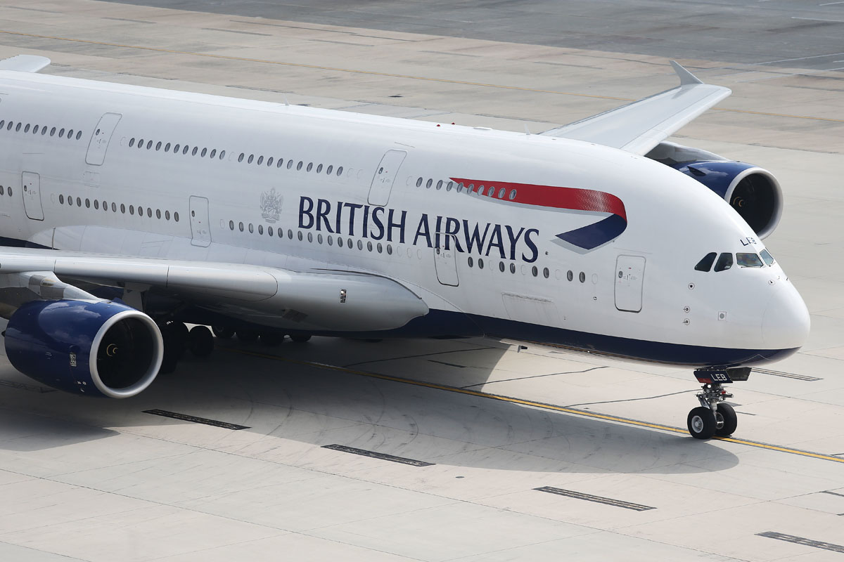 British Airways A380 to Frankfurt and Madrid