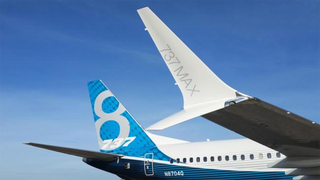 Boeing 737 MAX scimitar wingtip