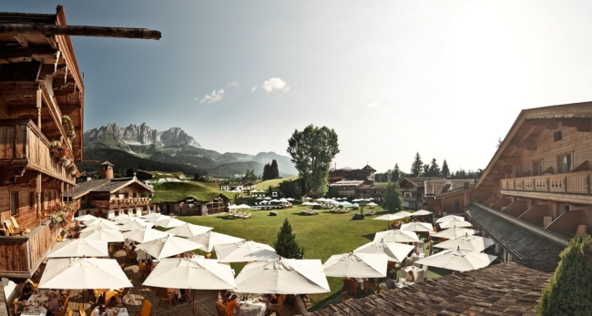 Stanglwirt hotel Austria