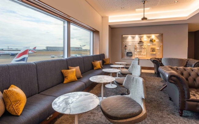 Getting airport lounge access for free from a credit card