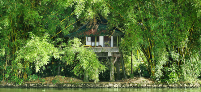 review Our Land Island Backwater Resort, Alleppey, South India