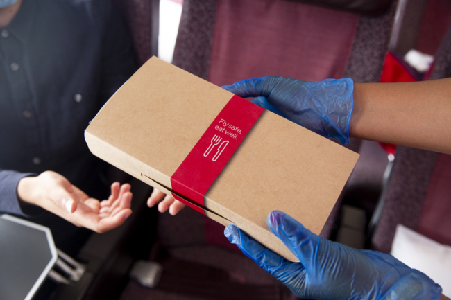 Virgin Atlantic coronavirus catering