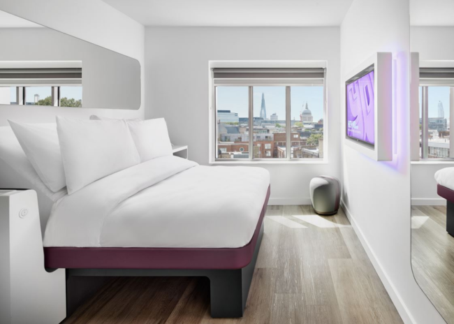 YOTEL London Queen cabin