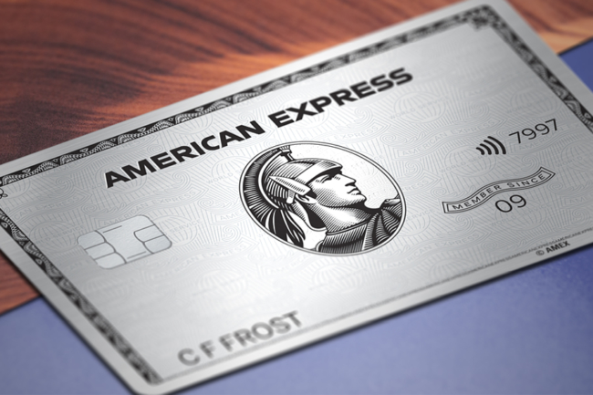 American Express Amex Platinum card £400 free Marriott stays