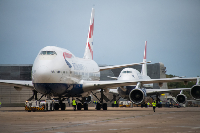 BA 747 retirement