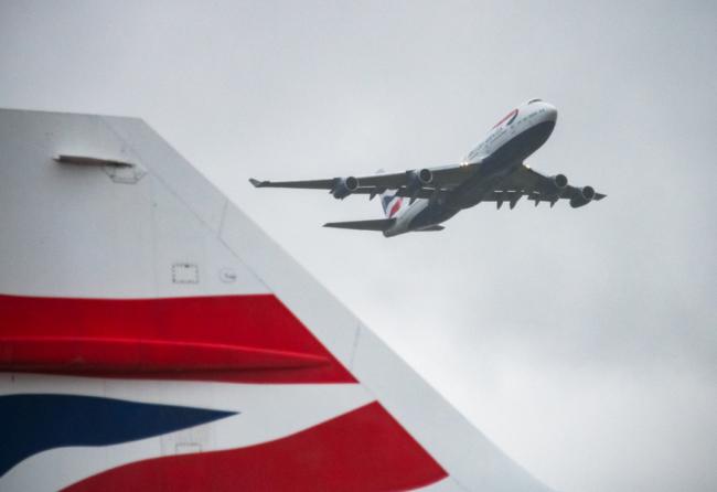 BA 747 retirement Concorde tail