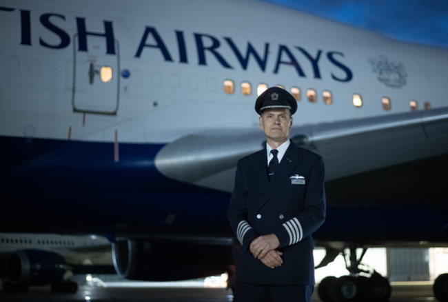 BA 747 retirement pilot
