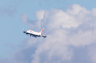 BA 747 Dunsfold Aerodrome approach