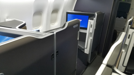 BA First Suite cabin