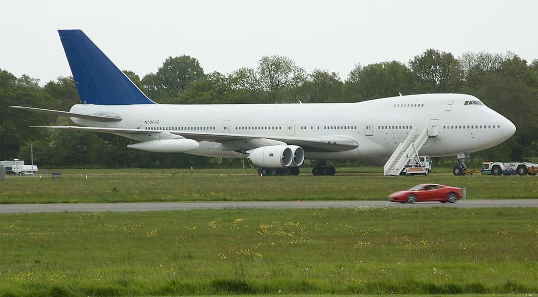 One retired British Airways Boeing 747 will live on as a film set