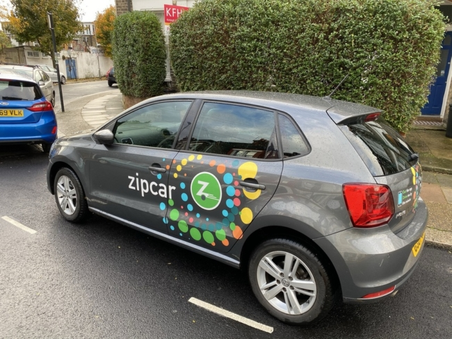 Zipcar Flex to Heathrow