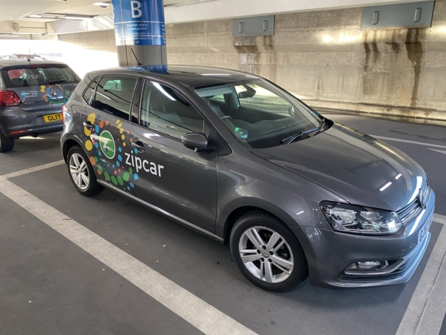 Zipcar Heathrow drop off