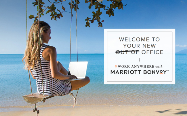 Marriott work from hotel packages