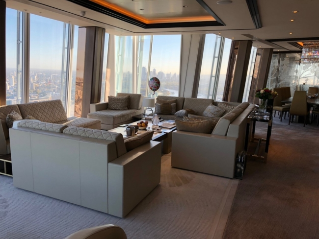 Review Suite Shangri-La Hotel London The Shard
