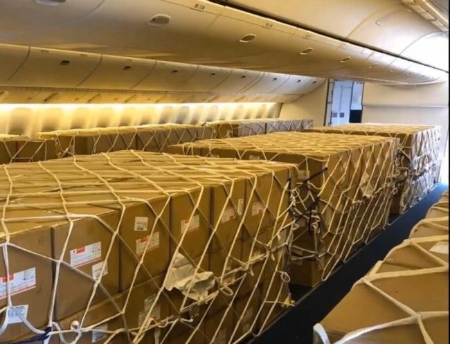 British Airways 777 cargo